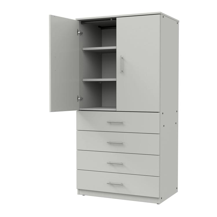 Drawer/Shelf Combo Cabinet