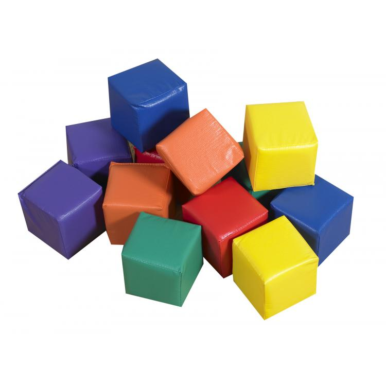 Toddler Baby Blocks in Primary Colors