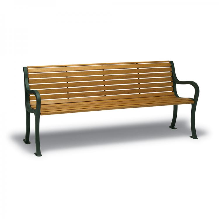 Covington 6' Bench - Faux Wood