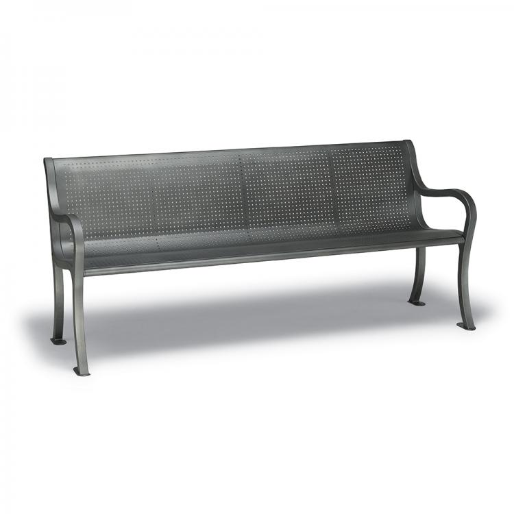 Covington 6' Bench - Round Perforation