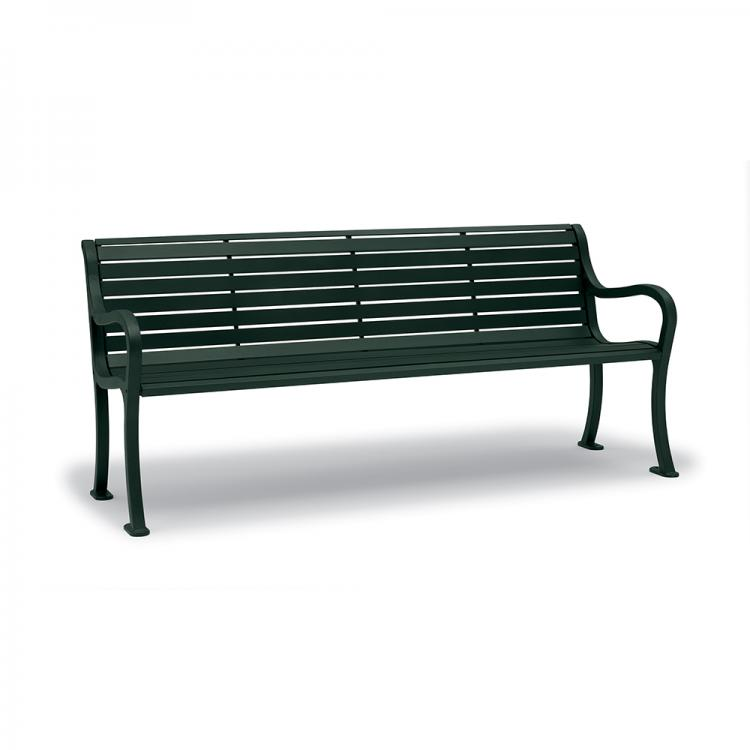 Covington 6' Bench - Horizontal Slat