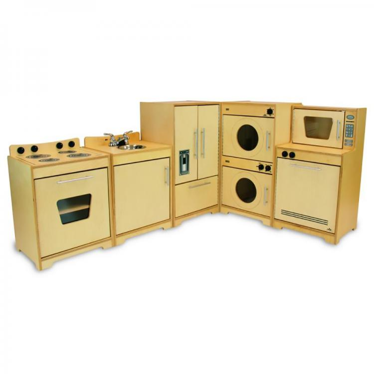 Contemporary Kitchen Set - Natural