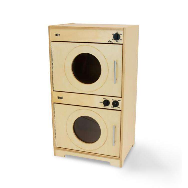 Contemporary Kitchen Set - Natural - Washer/Dryer