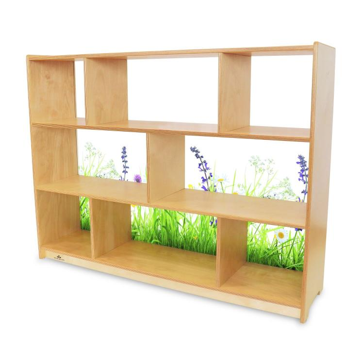 Nature View Acrylic Back Cabinet